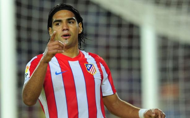 Falcao Atletico Madrid