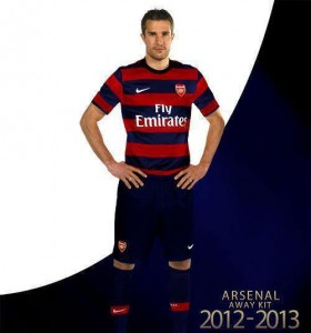 Nouveau maillot arsenal ext rieur saison 2012 2013 for Arsenal maillot exterieur 2013