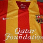 Maillot FC Barcelone 2013/2014 en mode catalan