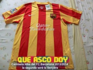 Maillot FC Barcelone 2013/2014