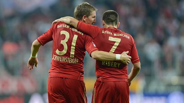 Le Bayern Munich est grand favori du week-end