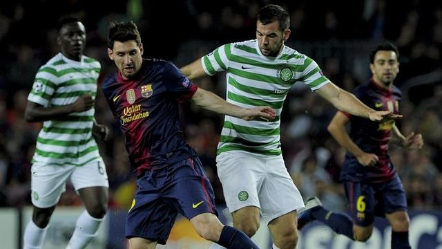 Le Celtic bat le FC Barcelone (2-1)