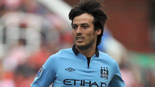 David Silva, buteur avec City ce week-end