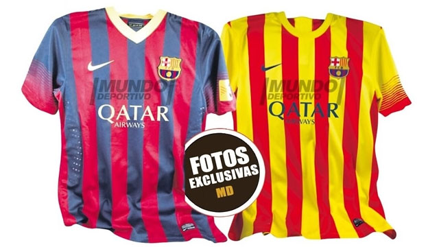 Maillot Barcelone 2013/2014