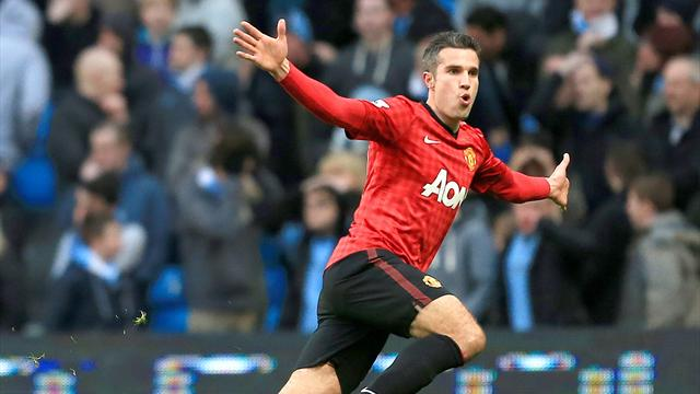 Robin Van Persie et Manchester United dominent la Premier League