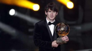 Lionel Messi remporte son quatrième ballon d'or