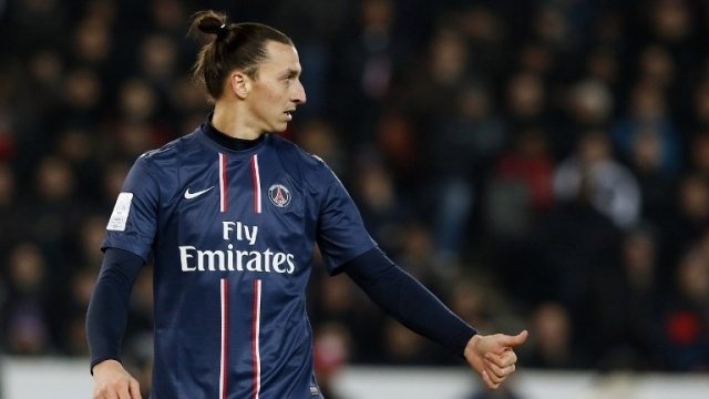 Zlatan a inscrit un but hier face à l'OM