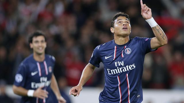 Thiago silva paris saint germain