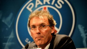 Laurent Blanc, entraineur du Paris Saint Germain