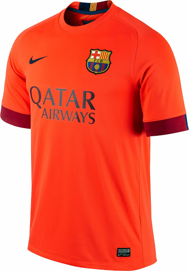 Maillots de football 2015 2016 for Maillot barca exterieur