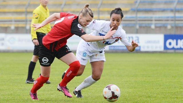 photo EAG Faustine Robert contre Juvisy
