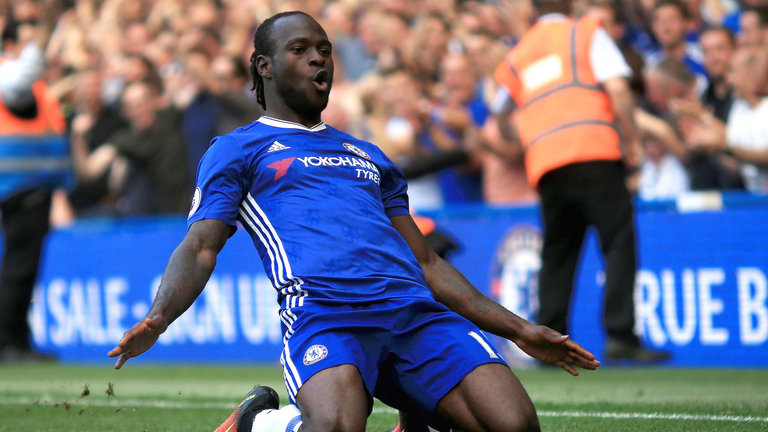 Maillot Domicile Chelsea Victor Moses