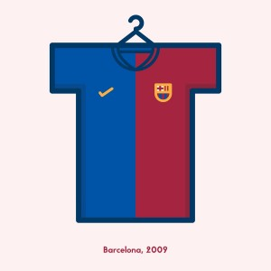 Barcelone kit 2009