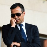 Jorge MENDES - 30.08.2014 - Monaco / Lille - 4eme journee de Ligue 1 - Photo : Olivier Anrigo / Icon Sport