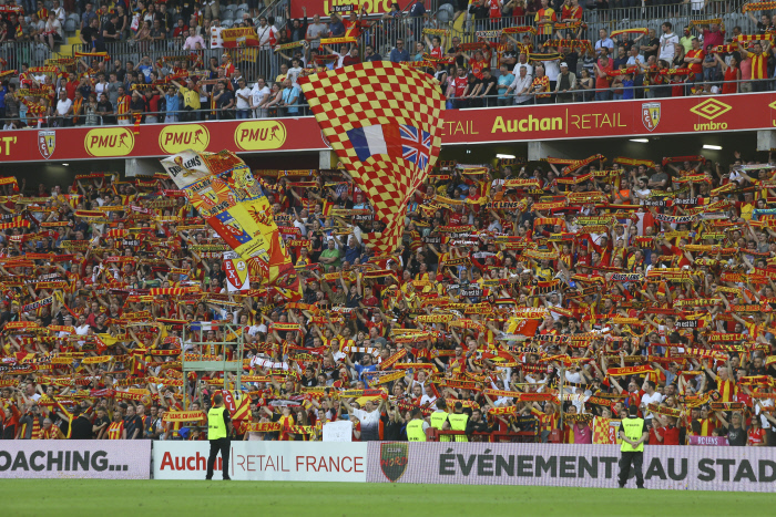 ambiance supporters Lensois