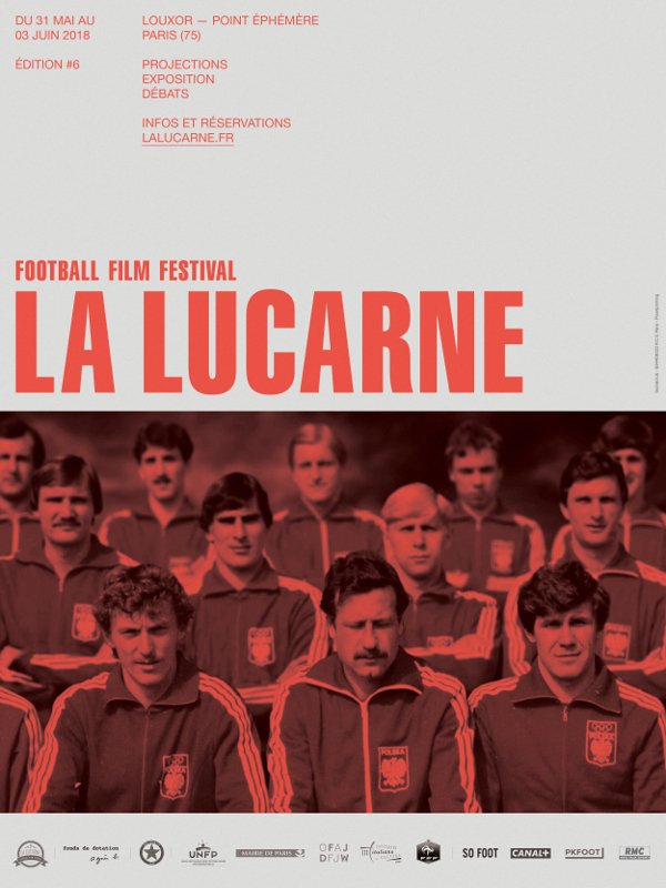 Affiche officielle 6e edition La Lucarne